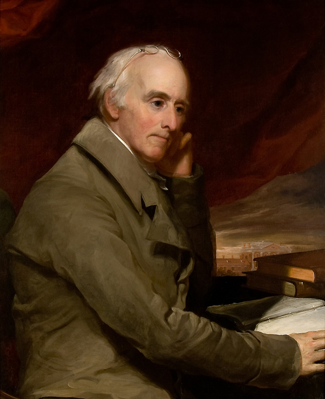 Thomas Sully, <i>Benjamin Rush</i>, c.1813, oil on canvas